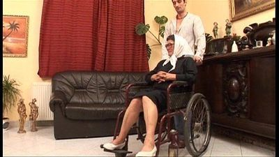 Mature grandame and a grandson fucking sex - 4 min