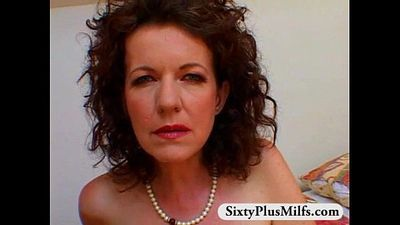 exciting hairy GILF showing her self - 5 min