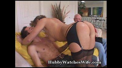 My Mature Wife Fucks Young Stud - 5 min