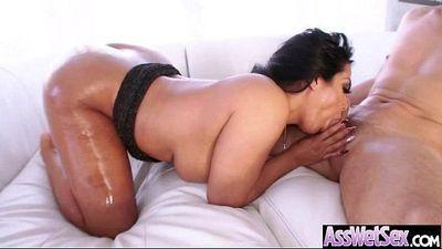 Big Wet Butt Girl (kiara mia) Enjoy Hard Anal Intercorse On Cam video-20