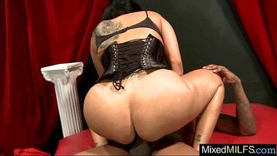 Mixt Sex Tape With (kiara mia) Lovely Milf Riding Huge Black Cock clip-19