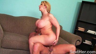 Huge Ass Porn Star Sara Jay Tit Fucking