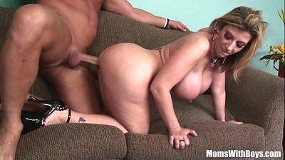 MILF Blonde Sarah Jay Soft Massive Tits FuckedHD