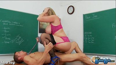 Big assed Sara Jay ride cockHD