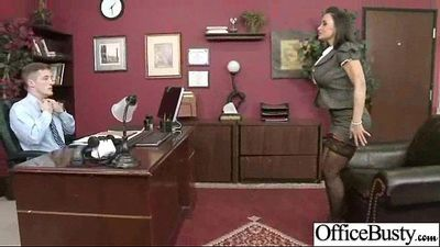 (lisa ann) Sexy Busty Office Girl Bang Hardcore Style video-22