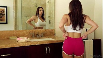 Busty Milf Kendra Lust and Riley Reid at Mommy\