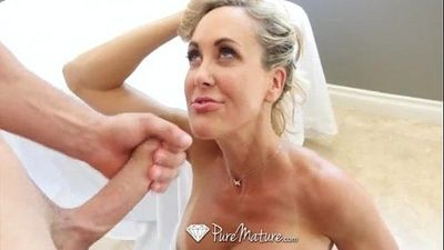 PureMaturePerfect 10 Milf Brandi Love fucked from behind