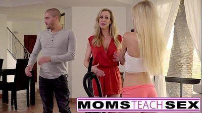 Moms Teach SexBig tit mom catches daughterHD