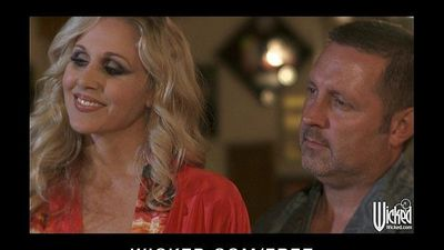Curious couple invite Jessica Drake for their first threesomeHD