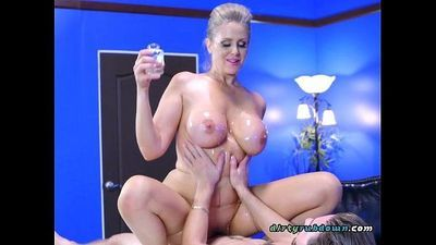 Sexy Psychologist Julia Ann Straddles Hung Patient