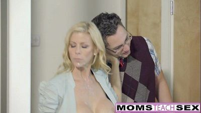 Lucky Son Fucks Step-Mom Alexis Fawx Then Teen Lily RaderHD