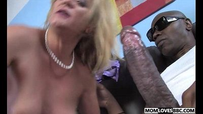Two big black dicks for mom Ginger Lynn