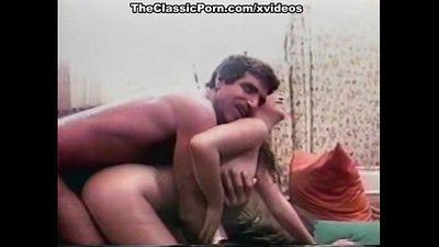 Ginger Lynn Allen, Traci, Tom Byron in classic porn site