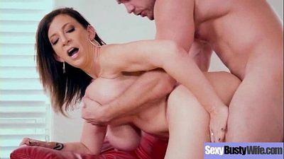 Sex On Tape In Hard Style Big Juggs Mommy (Sara Jay) vid-27