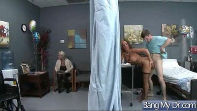 Hard Intercorse With (richelle ryan) Hot Patient And Dirty Mind Doctor clip-26