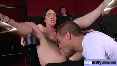(rayveness) Sexy Big Melon Tits Wife Love Hard Intercorse movie-27