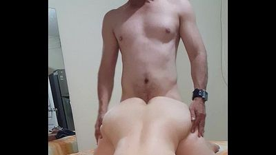 Doggystyle sexy amateur latin wife - 57 sec