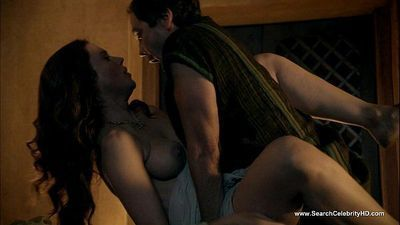 Lucy Lawless Nude Scenes - Spartacus - 1 min 30 sec HD