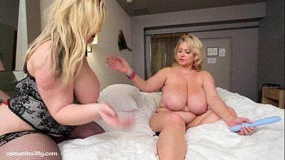 Sexy BBW Slut MILF Gets Pussy Plunged By Young Plumper - 2 min HD