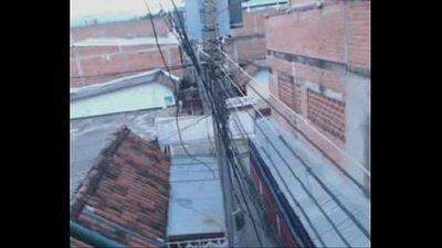 colombiana se masturba en el balcon 2 - 2 min
