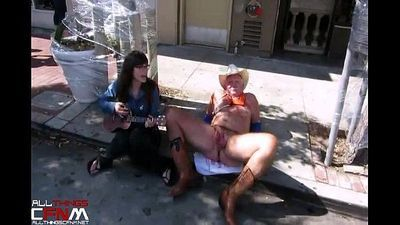 CFNM Cock Fun at Folsom Street Fair - 2 min