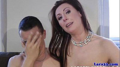British glamour milf fucks stranger to climax - 10 min HD