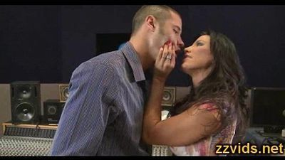 Awesome hot MILF Lezley Zen fucked by young guy - 5 min