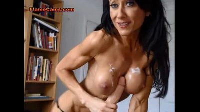 MILF Fitness Trainer Has A Cum Fetish - 5 min
