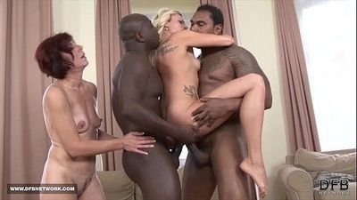 Black men Fuck White Women Deepthroat Swallow Cum Hardcore Interracial bang - 8 min HD