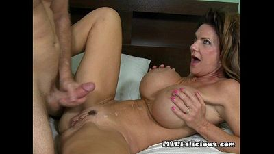 Big Tit Mama Loves To Eat Cum.wm - 5 min HD