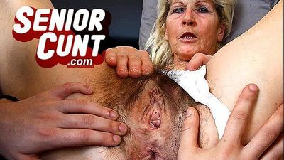 Big tits cougar Silvy Vee pussy widening games - 6 min
