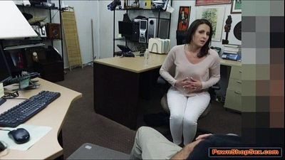 This good hot wife gets fucked by the Pawnshop owner - 6 min