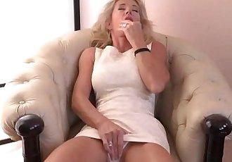Busty MILF Josefine MasturbatingHD
