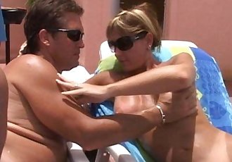 Cum Fun In Sun-Pussy mouth MILFs-cougars suck cum from cocks young and oldHD