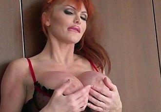 LiveGonzo Taylor Wane Busty MILF Wants More Sex - 8 min HD
