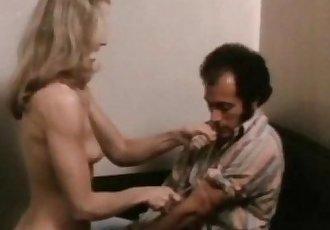 Classic Blonde MILF Handjob And Blowjob