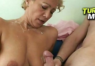 Slutty russian milf Alina takes it from behind