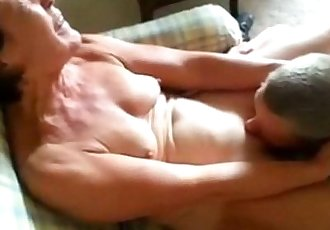 Mature Lady has her pussy licked by her husband - 1 min 15 sec