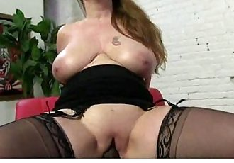 Hot MILF gags and gets banged by a black cock 12