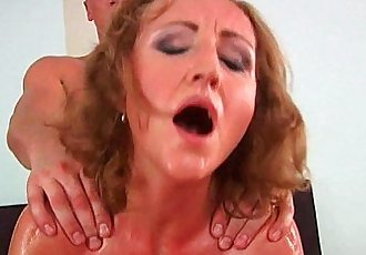 Grandma with cute titties gets fucked by guy half her age - 5 min HD