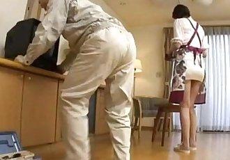 Nanako gets fucked at home - 8 min
