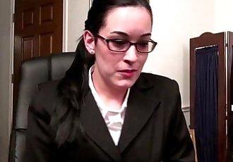 American MILF in glasses masturbating - 6 min