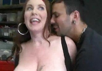 Her beautiful bosom makes any man tap her - 7 min