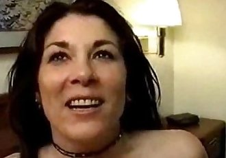Mature wife get her creampie with 4 strangers - 9 min