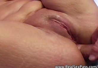 Mature lady fucked hard including anal