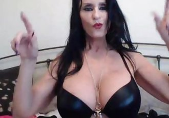 Crazy XXX celeb mature squirter Rita Daniels