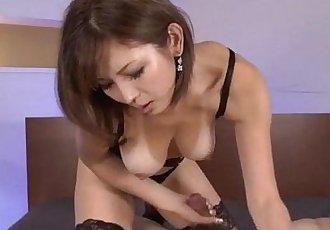 Serious POV oral scenes with superbMai Kuroki - 12 min