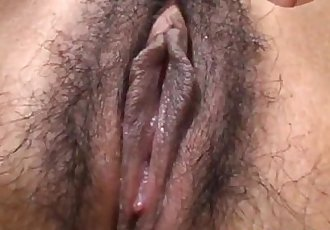 Japanese AV Model sensual pussy play in solo - 10 min