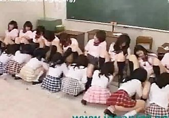 Classroom Full of Students Have Giant Orgy - 9 min