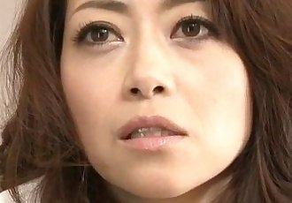 Maki Hojo amateur hardcore with a masked stranger - 12 min